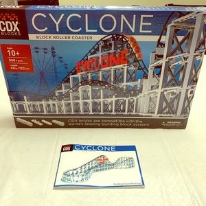 Cyclone CDX block roller coaster ages 10+